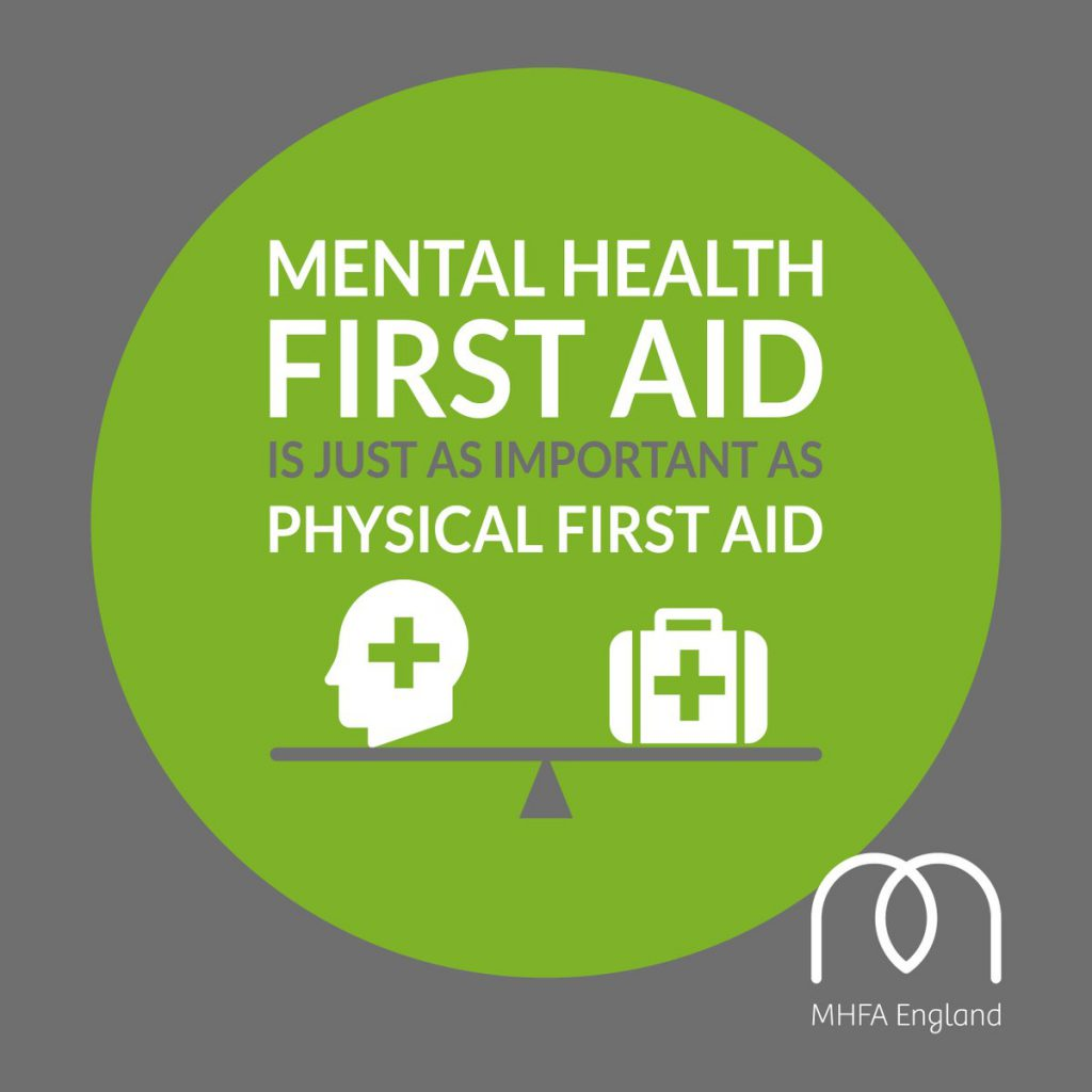 parity of mental and physical first aid