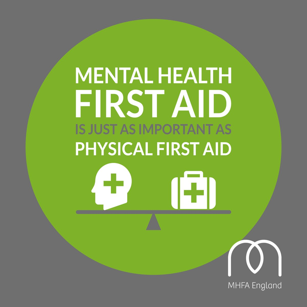 Mental Health First Aid as important as Physical first aid