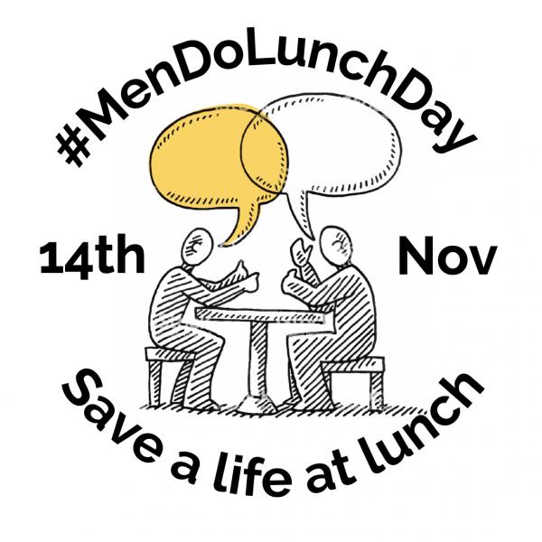 #MenDoLunchDay 2019
