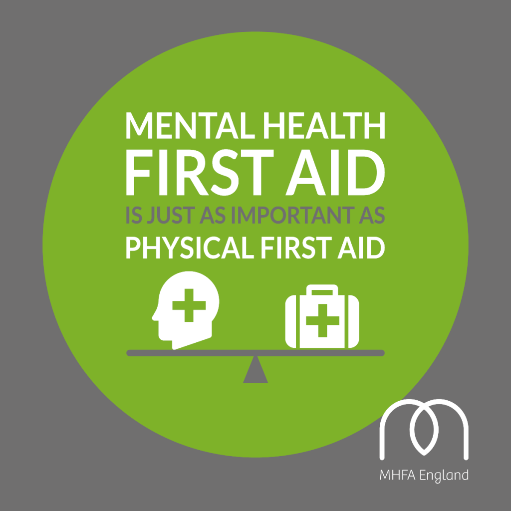 Mental Health First Aid is just as important as physical first aid