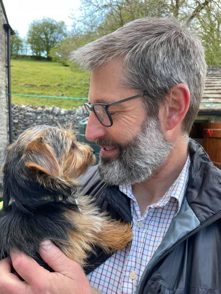 Andy Elwood puppy Bonnie